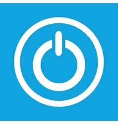 Power sign icon vector