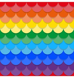 Scales rainbow seamless texture vector