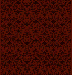 seamless tiling antique pattern vector image