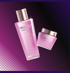 skin care cosmetic vector image