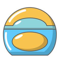 Soap dish icon cartoon style vector