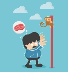 People lose weight hunger of people lose weight vector