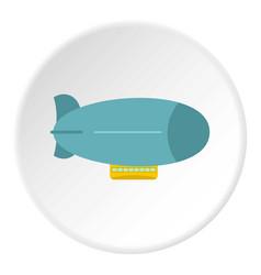 blue oil barrel icon circle vector image vector image