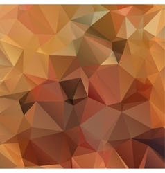 Brown Triangle Abstract Background vector image vector image