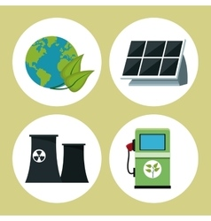 Collection environment clean energy vector