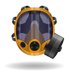 Gas mask 08 vector