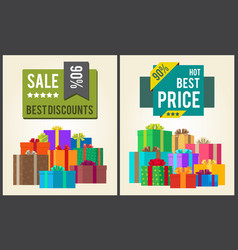 sale best discounts super hot prices final total vector image vector image