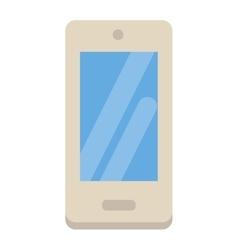 Smartphone flat designs cartoon telephone vector image