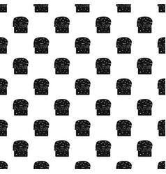 easter cake pattern vector image