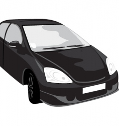 Black car vector