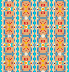 lakota pattern one vector image vector image