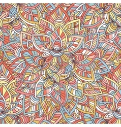 Ornamental indian pattern background vector image vector image