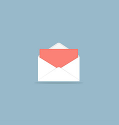 Set of envelope forms vector