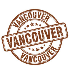 Vancouver stamp vector