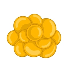 Group of viruses icon cartoon style vector