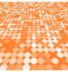 Orange abstract background vector