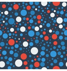 Seamless bubbles pattern vector image vector image