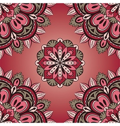 Simple red and grey pattern vector