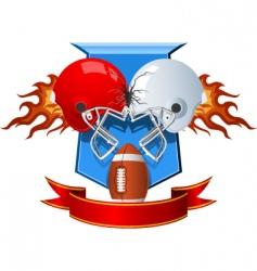 sport helmets vector image vector image