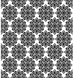 Antique ottoman turkish pattern design fifty three vector
