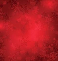 christmas snowflake background 1809 vector image vector image
