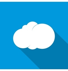 Cloud icon flat style vector image