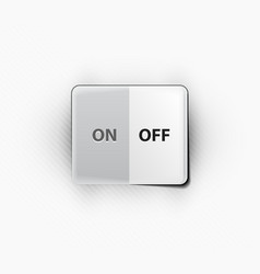 On off switcher vector image