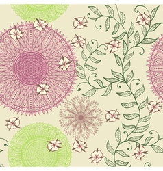 Seamless elegant soft pastel pattern vector