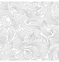 Seamless silver background vector