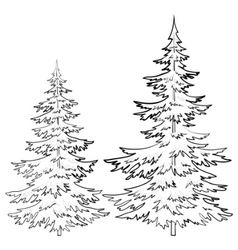 Furtree contours vector