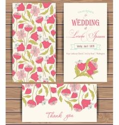 Greeting card templates vector