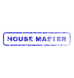 House master rubber stamp vector