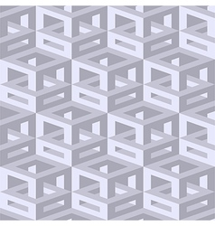 Isometric seamless background vector image