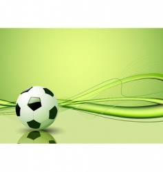 soccer ball template vector image vector image