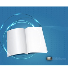 book business background vector image
