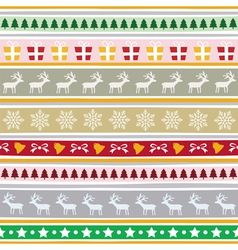 Christmas background1 vector image vector image
