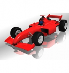formula one vector image vector image