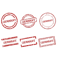 Germany stamps vector