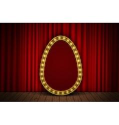 Golden egg stage vector