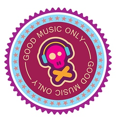 good music only vector image vector image
