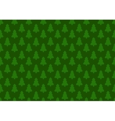 Pattern for wrapping paper Christmas tree on a vector image vector image