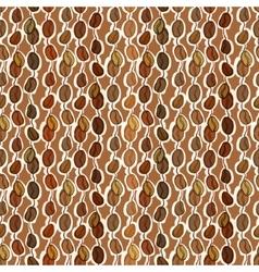 Seamless coffee texture vector image