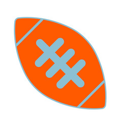 American football ball sign vector