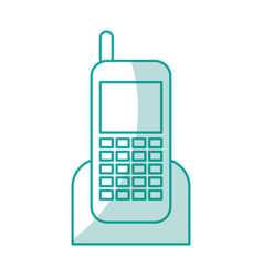 Cellphone device isolated icon vector