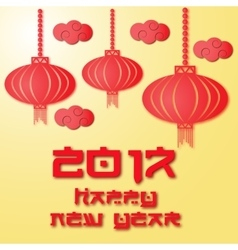 Chinese patterns for new year celebration vector