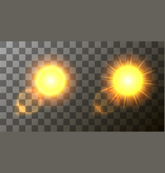 modern sun set background sunshine design vector image vector image