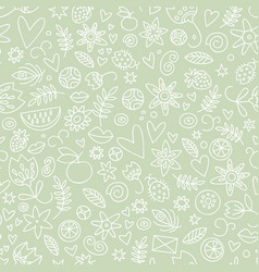 Seamless pastel love pattern vector