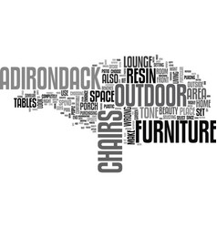 Adirondack resin lounge chairs the best way to vector