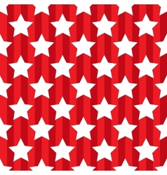 Seamless pattern with star patriotic usa vector