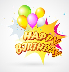 Birthday blast vector